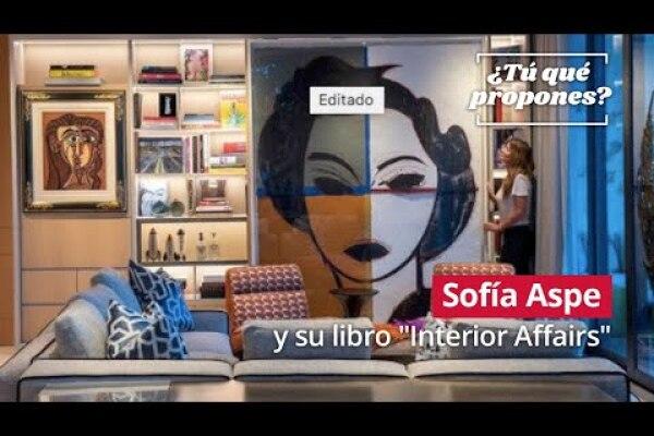 """Sofía Aspe y el interiorismo mexicano en """"Interior Affairs"""""""