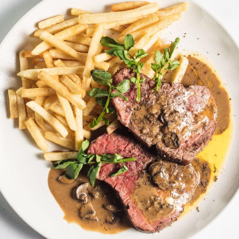 steak diane colmillo