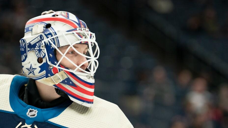 Matiss Kivlenieks: portero de la NHL