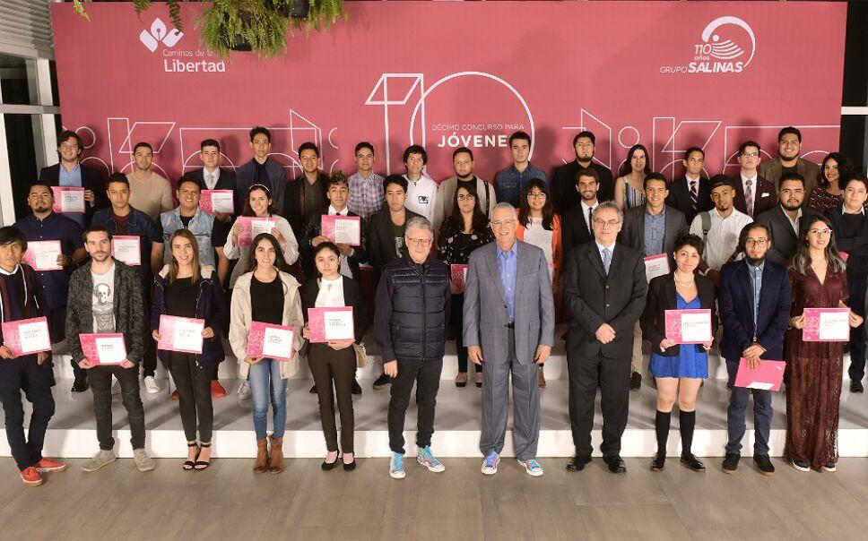 Las piezas premiadas fueron enviadas por jóvenes de hasta 25 años