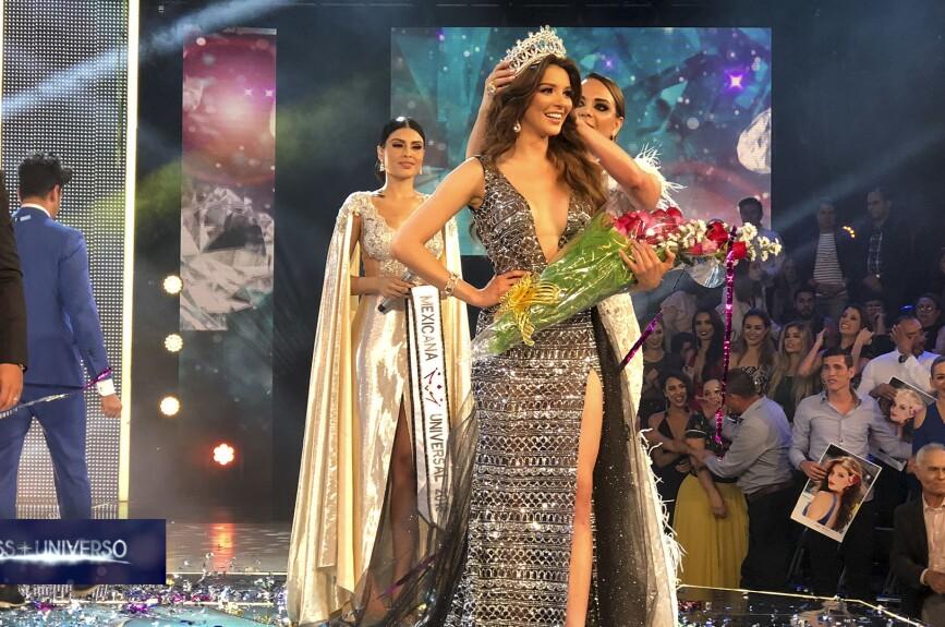 Andrea Toscano, la reina indiscutible de Mexicana Universal.
