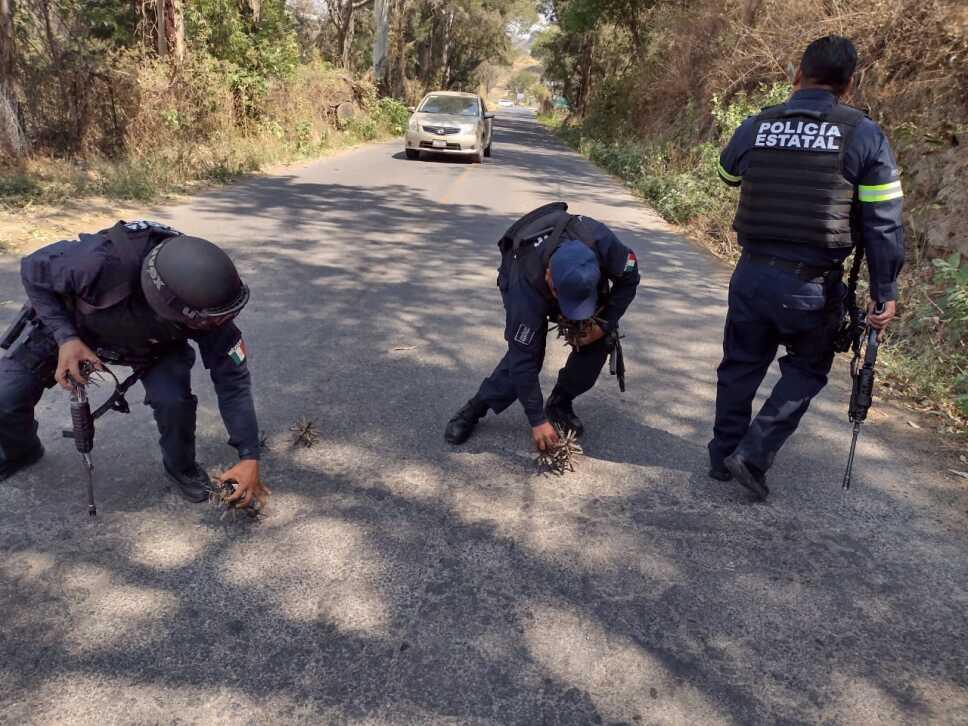 Emboscan a agentes en Coatepec edomex.jpeg