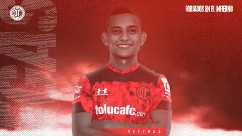 Óscar Vanegas Toluca refuerzo