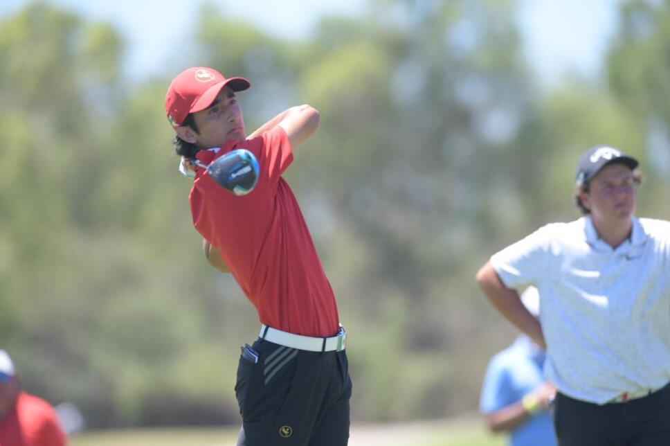 Alejandro Fierro durante el Campeonato Nacional Infantil-Juvenil