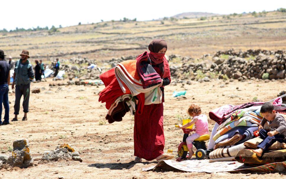 Siria, país en guerra constante, está en el tercer lugar. Unos 5.5 millones de sirios viven refugiados en países aledaños.