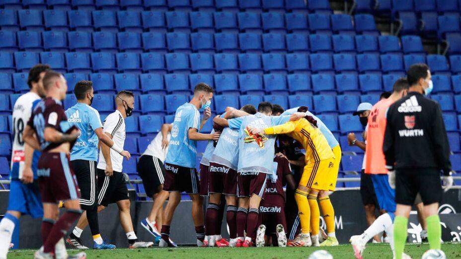 Celta de Vigo se salva del descenso