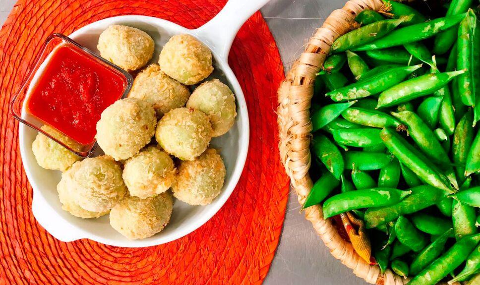 receta croquetas de chícharo