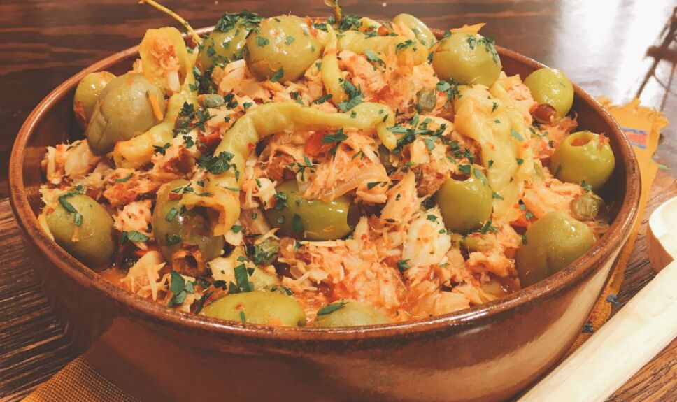Bacalao Navideño, receta de cocineros mexicanos
