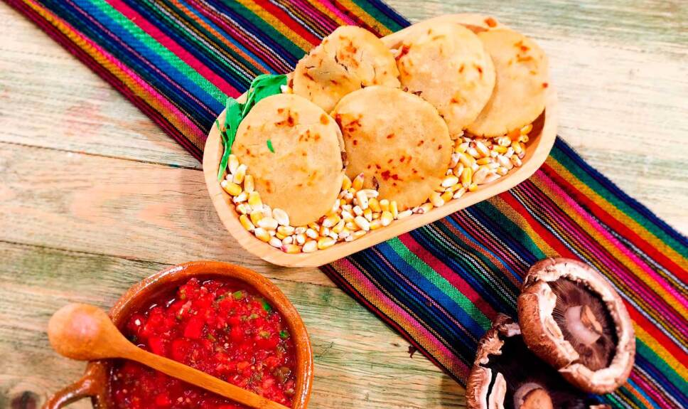Receta Gorditas de queso y hongos