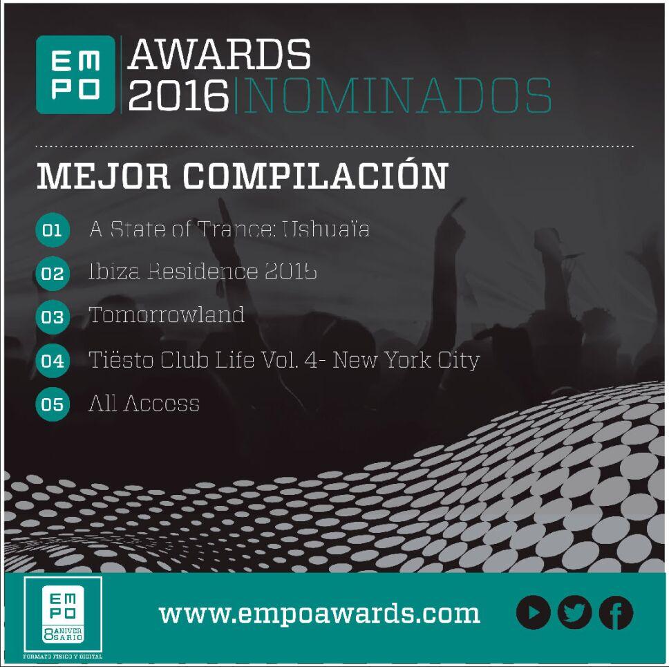 Mejor compliacion Empo Awards 2016