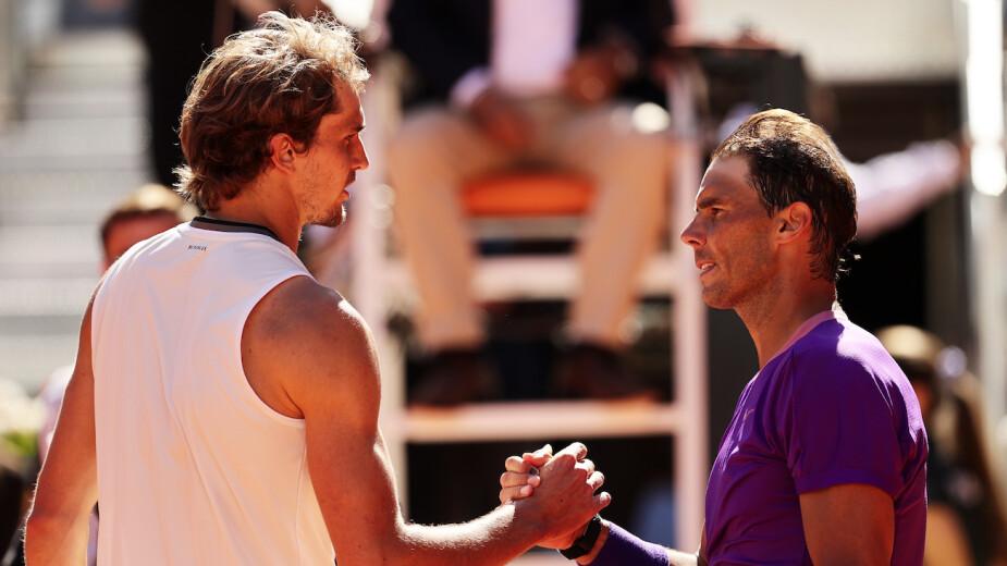 Rafael Nadal quedó eliminado del Mutua Madrid Open
