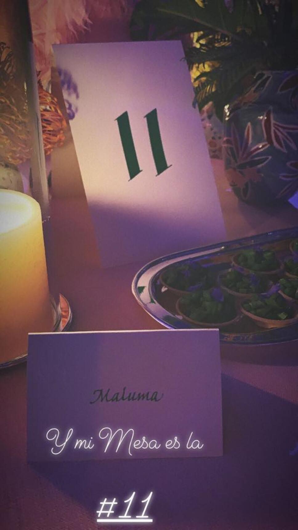 mesa maluma met gala