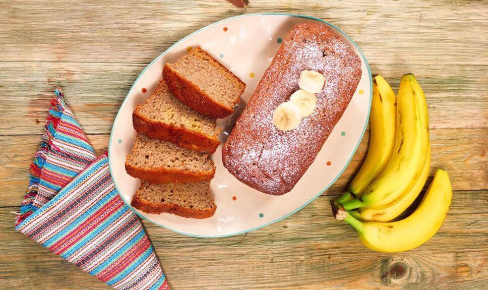 Receta Panqué de plátano