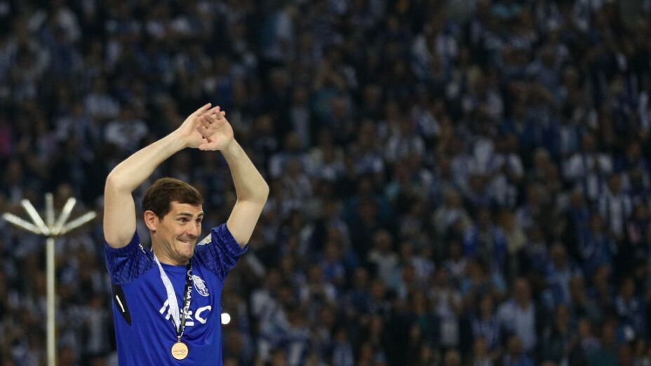El detalle del Porto con Iker Casillas