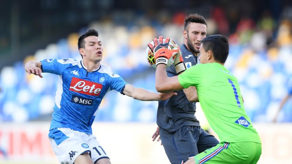 Napoli vs Sampdoria