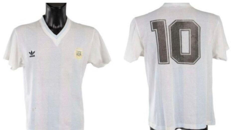 Camiseta de Diego Armando Maradona
