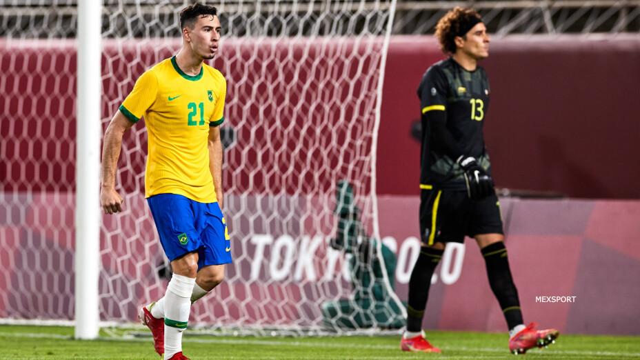 México vs Brasil Semifinal de Juegos Olímpicos