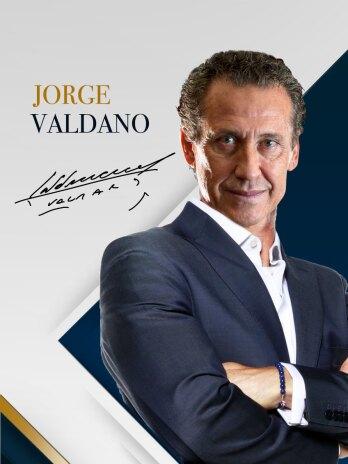 JORGE VALDANO dictado