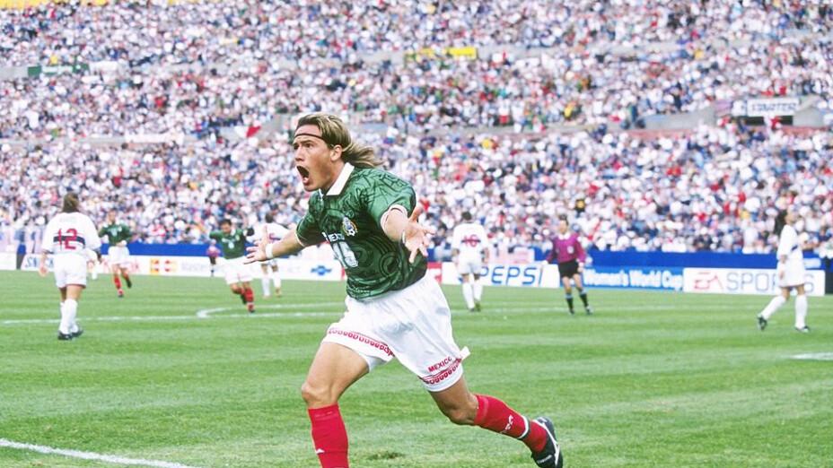 Luis Hernández brilló en la Copa América de 1997