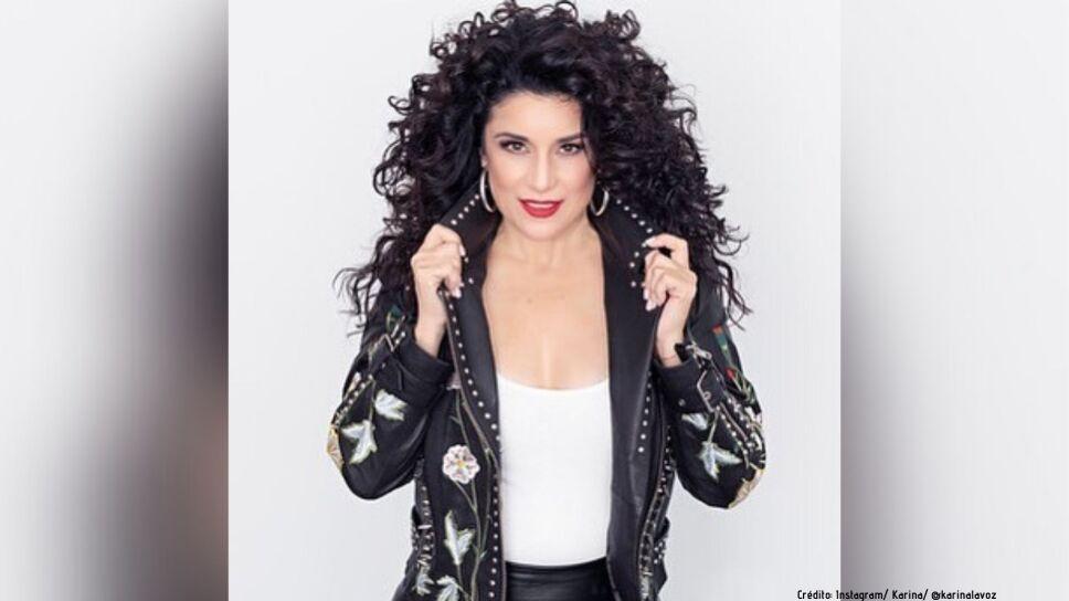 """Karina, cantante venezolana, cancela su tour a causa del Coronavirus: """"Hay que ser muy precavidos""""."""