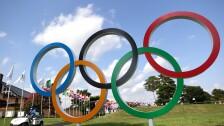 Aros Olímpicos en el campo de Golf de Tokyo 2020