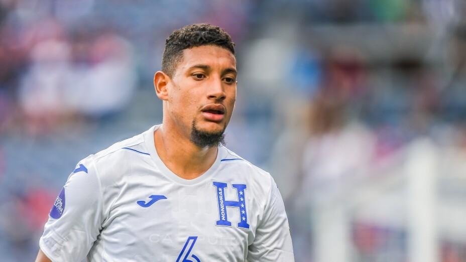 Bryan Acosta, jugador de Honduras