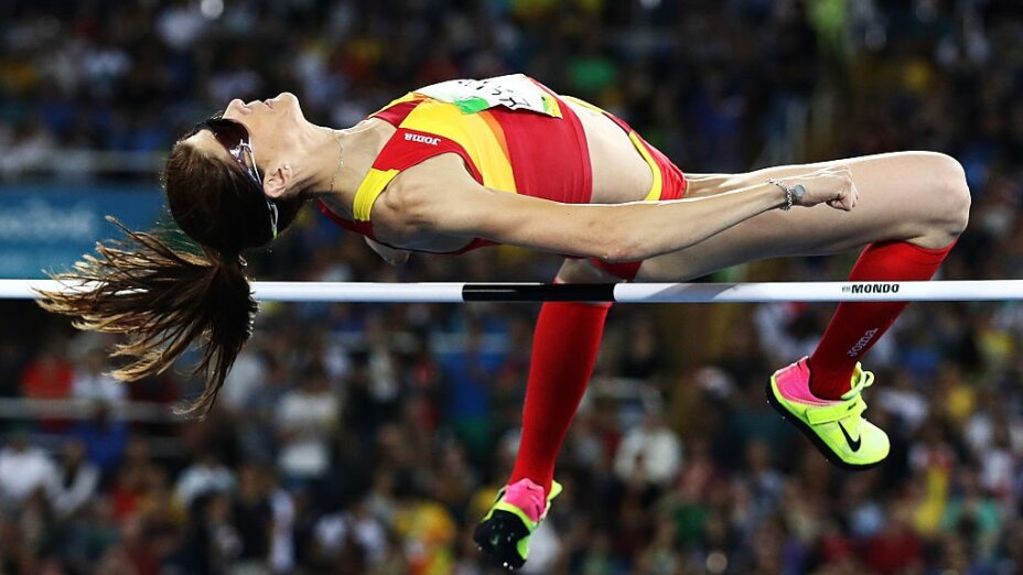 Ruth Beitia, salto de altura