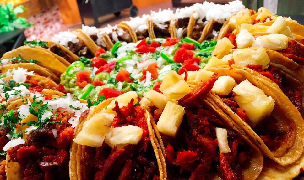Receta Taco Pizza  Cocineros Mexicanos