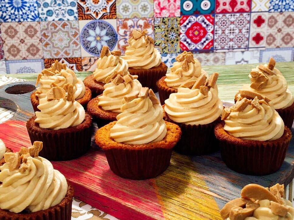 Receta Cupcakes sin gluten Cocineros Mexicanos