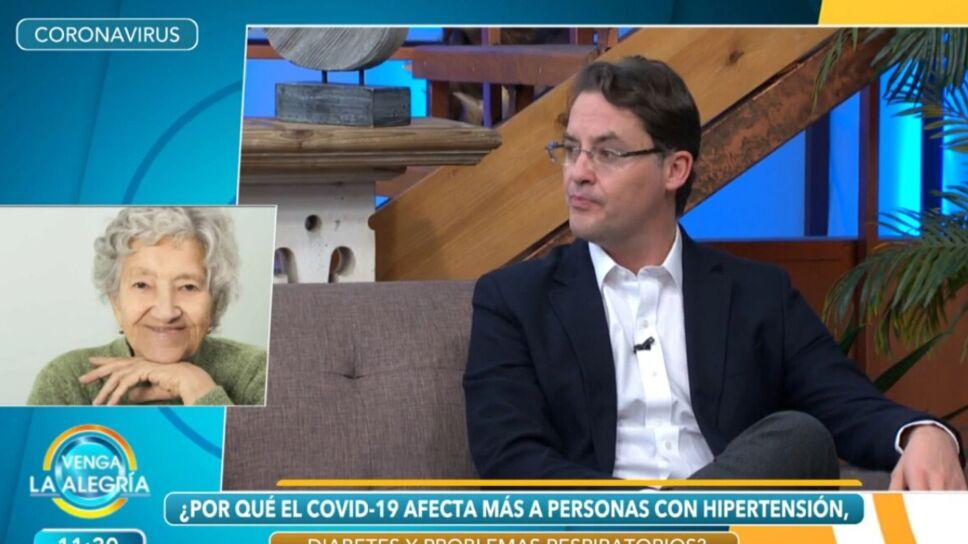 Doctor José Manuel Mier en Venga La Alegría