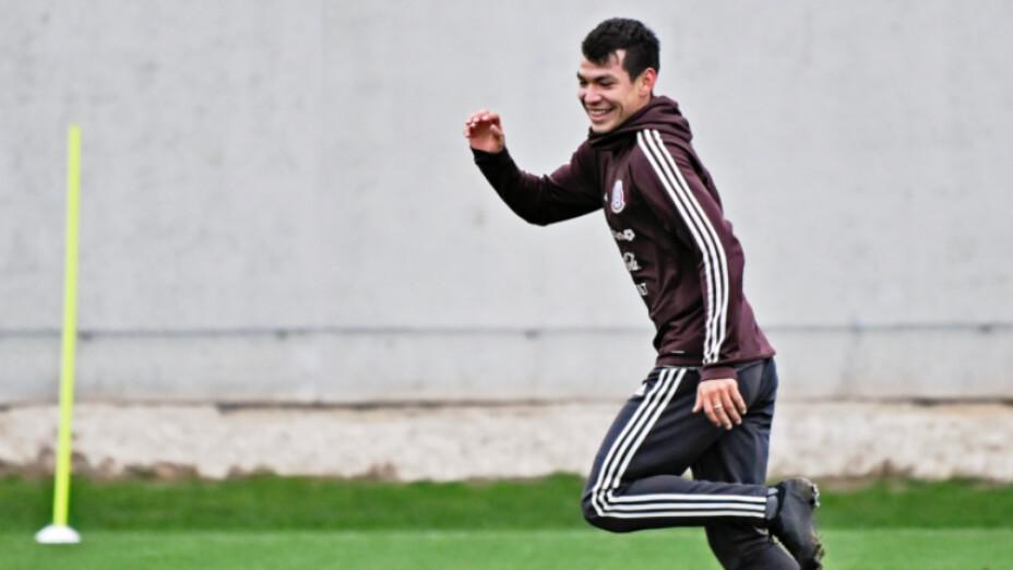 Hirving Lozano Selección Nacional de México