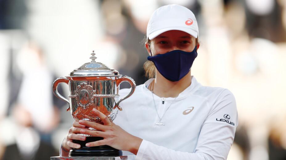 Polaca Iga Swiatek de 19 años gana Roland Garros
