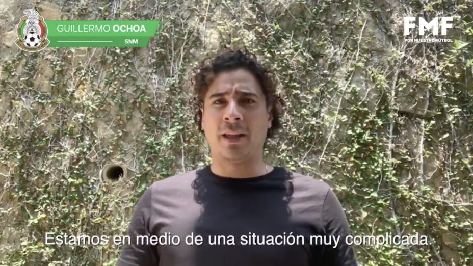 En el día internacional de la enfermería, la Selección Azteca rindió homenaje a aquellos que están en la primera línea de batalla ante el Covid19