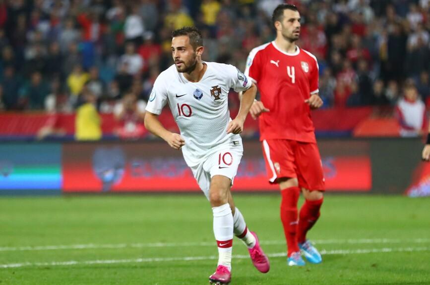 Euro 2020 Qualifier - Group B - Serbia v Portugal