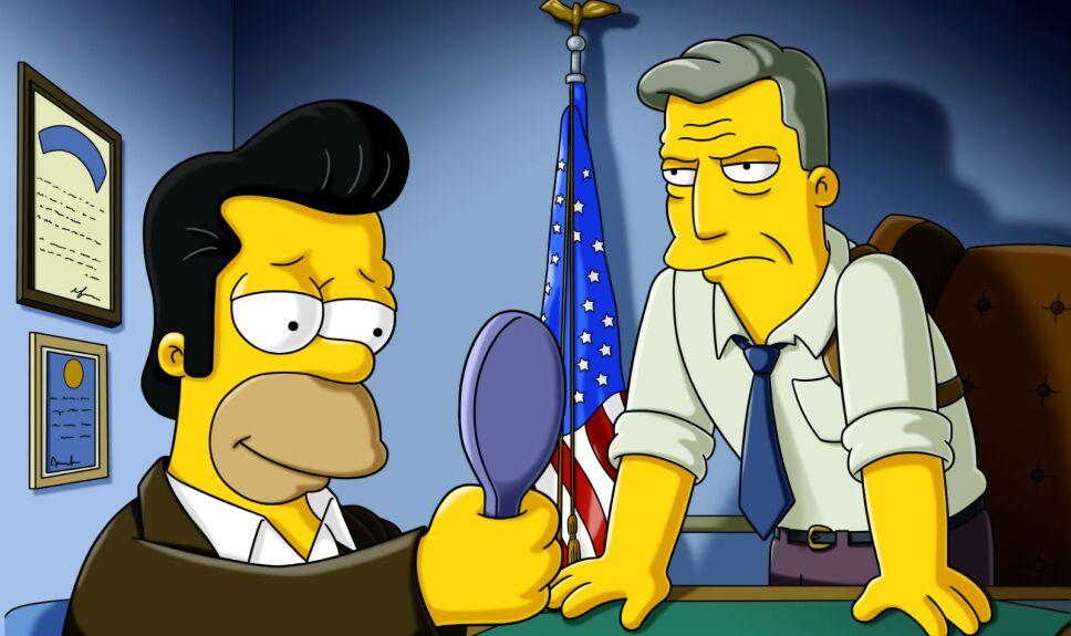 Los Simpson Donnie el gordo