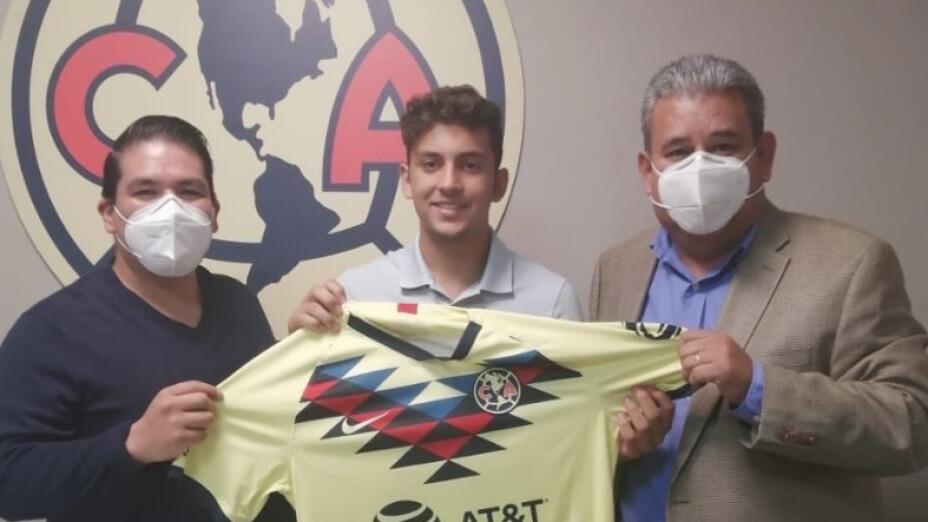 Las Águilas del América sumaron a la promesa Tarek Sirdah