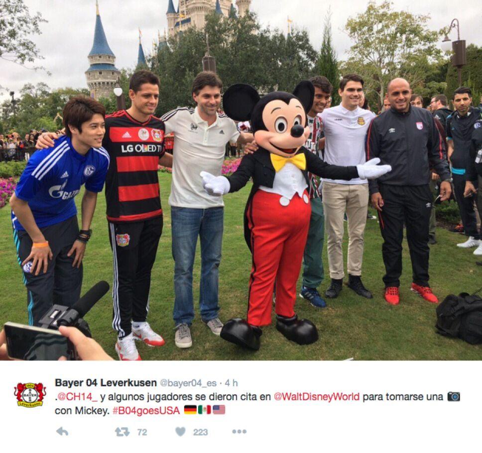Bayer Leverkusen Disney 3