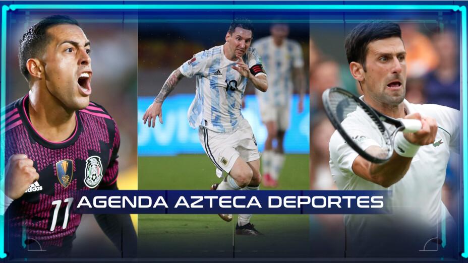 Agenda Deportiva 8 de septiembre