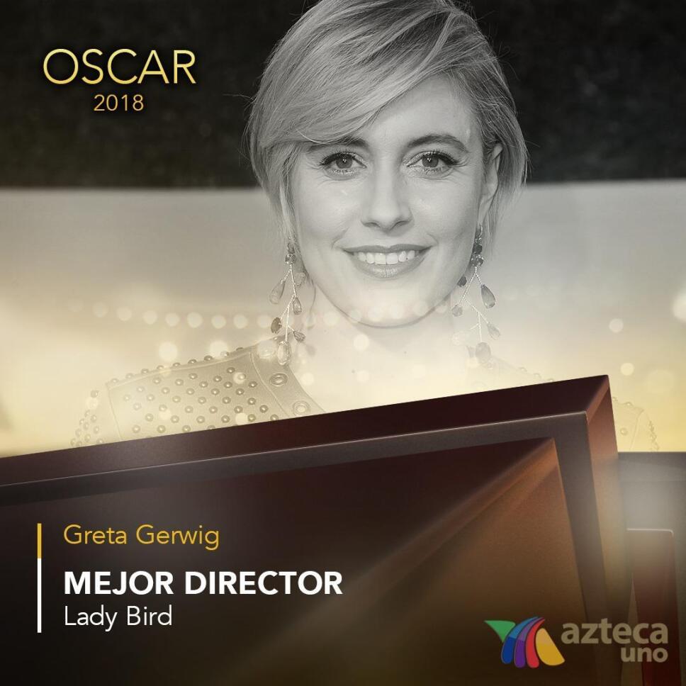 Greta Gerwig, Oscar 2018, Nominaciones Mejor Director