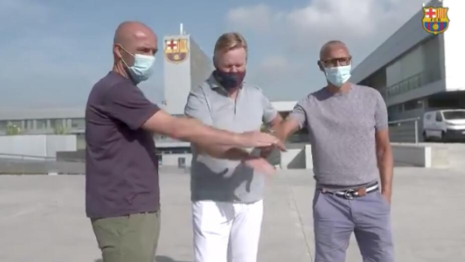 Schreuder y Larsson se incorporan al staff técnico de Koeman