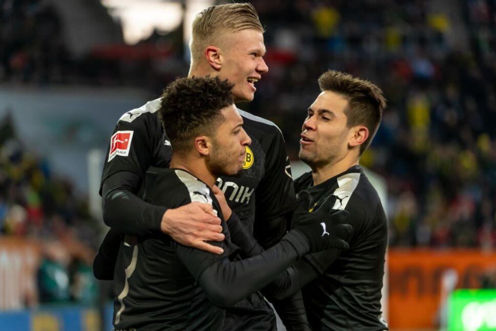 ¡Debut soñado de Haaland con el Borussia Dortmund!