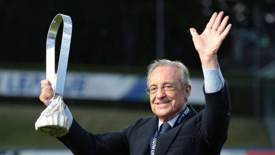 La Superliga salvará al futbol: Florentino Pérez