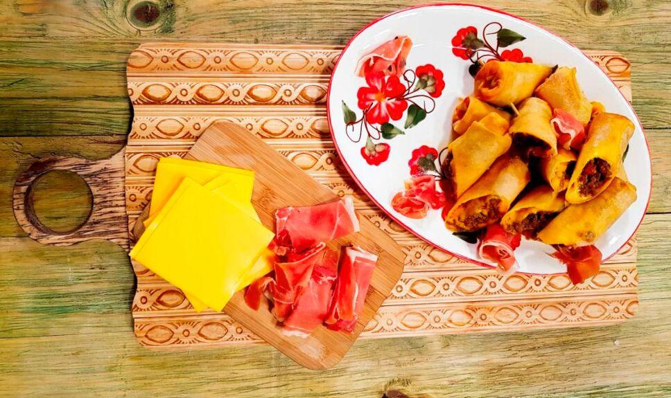 Receta Tacos fritos gratinados