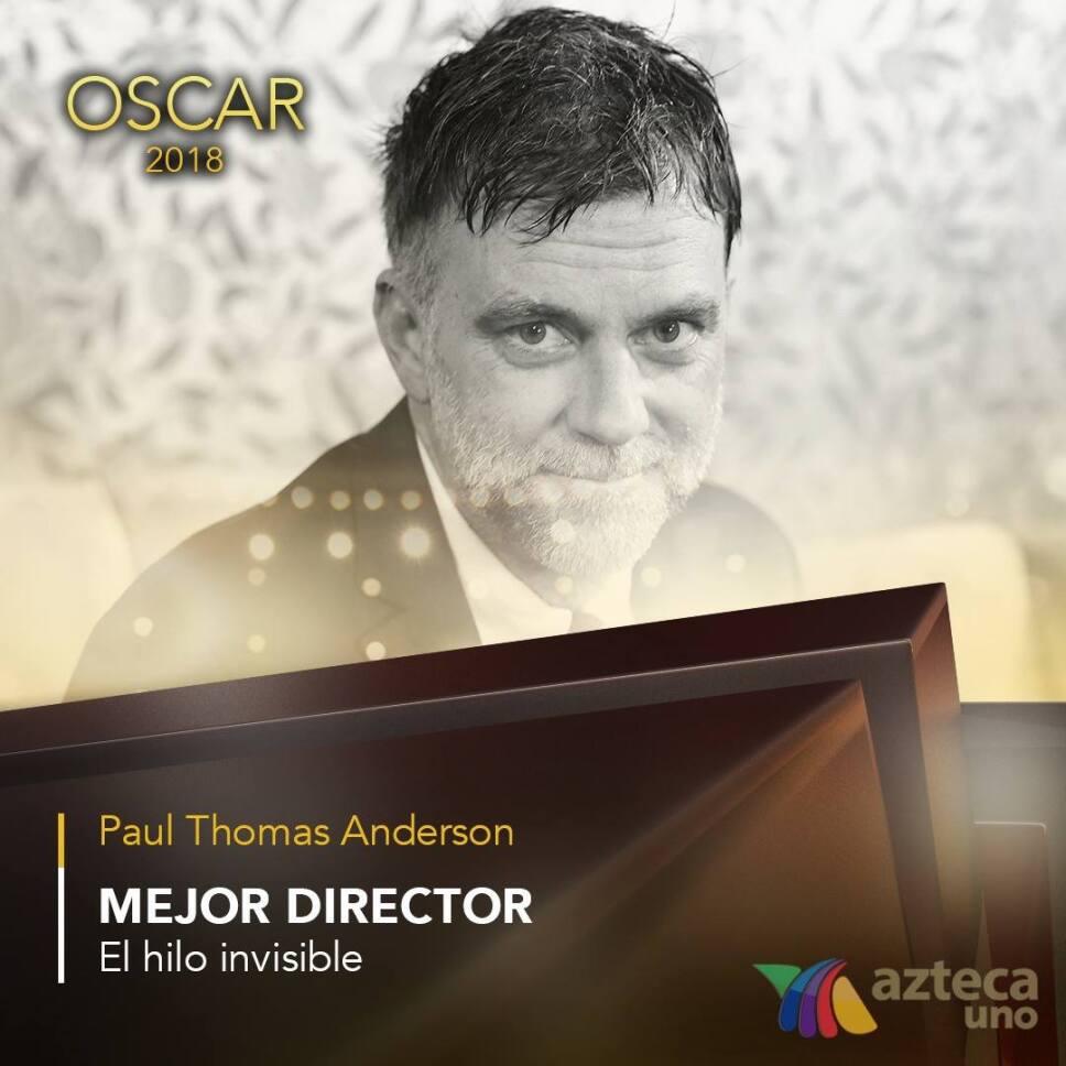 Paul Thomas Anderson, Oscar 2018, Nominaciones Mejor Director