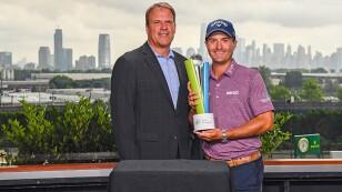 Kevin Kisner fue favorecido por los fans del PGA TOUR