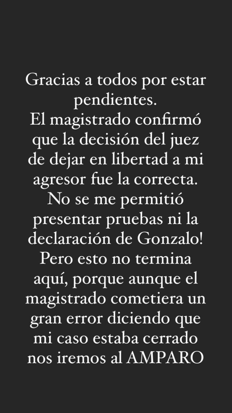 Comunicado Daniela Berriel