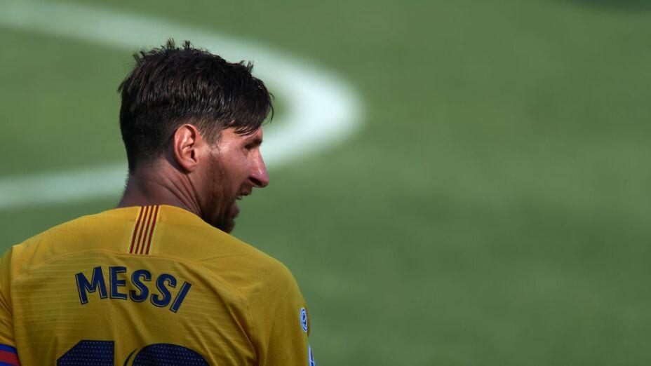 Lionel Messi estrena nuevo equipo