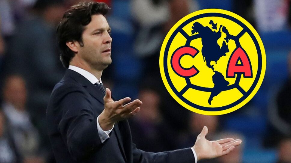 Santiago Solari nuevo entrenador del América