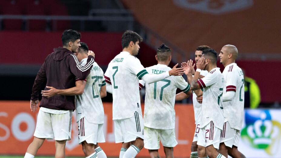 Selección Mexicana de Futbol contra Argelia