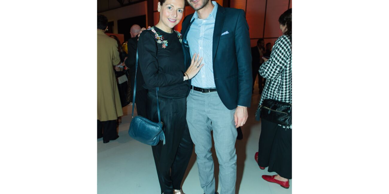 Michelle Aizpuru y Juan Acevedo